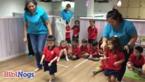 Children at KA took part in fun (and competitive) games
