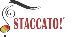 Staccato Logo with registered Trademark