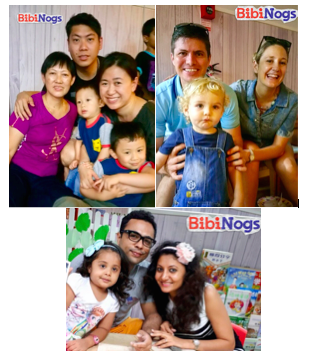 Happy BibiNogs Families!! What a memorable Mothers' Day!!
