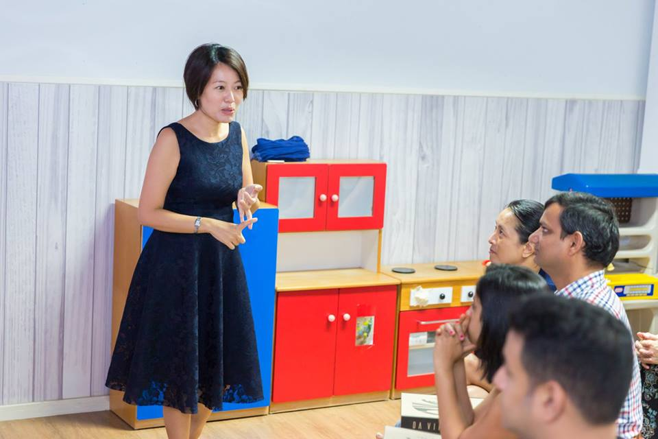 Our Director, Ms Joyce Lim, engaged parents in a wonderful parent workshop
